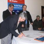 Se firmó el Acta Acuerdo para la Mejora de la Gestión de la Subsecretaría de Empleo y la ampliación de la Red Provincial de Empleo