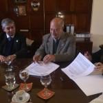 Firma del convenio de continuidad al Programa PROG.R.ES.AR