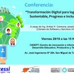 Conferencia a cargo de la Cámara de Software y Servicios Informáticos