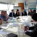 Reunión con representantes de empleo del NOA