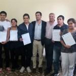 Formación Profesional: Entrega de Certificados