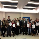 Entrega de certificados de Formación Profesional en la Unión de Hoteles