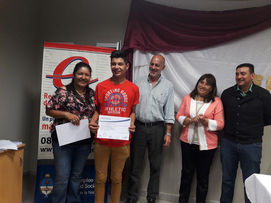 Acto de Entrega de Certificados – Tafí del Valle – Tucumán Capacita