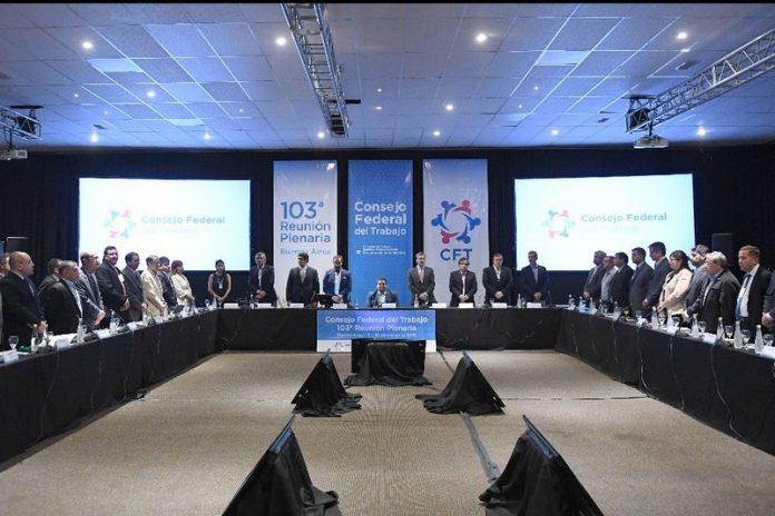Tucumán participo de la 103° Reunión Plenaria del Consejo Federal del Trabajo