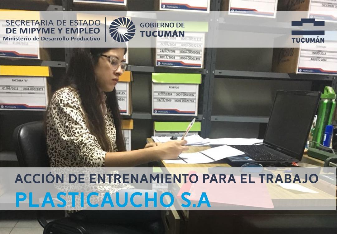 Intermediación Laboral – Visita a Empresa Plasticaucho