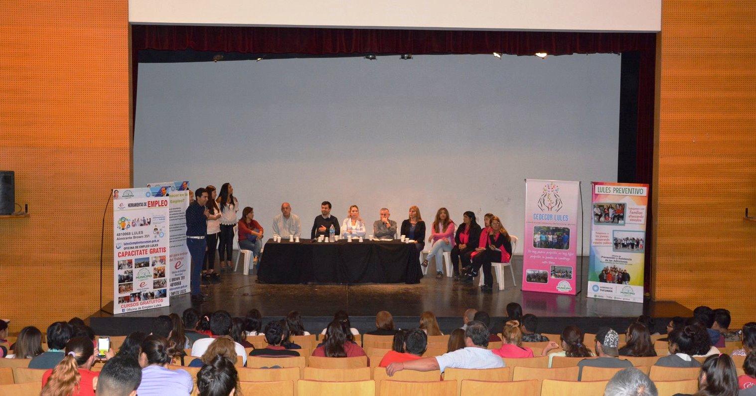 Prevención de Adicciones a Jóvenes Tucumanos