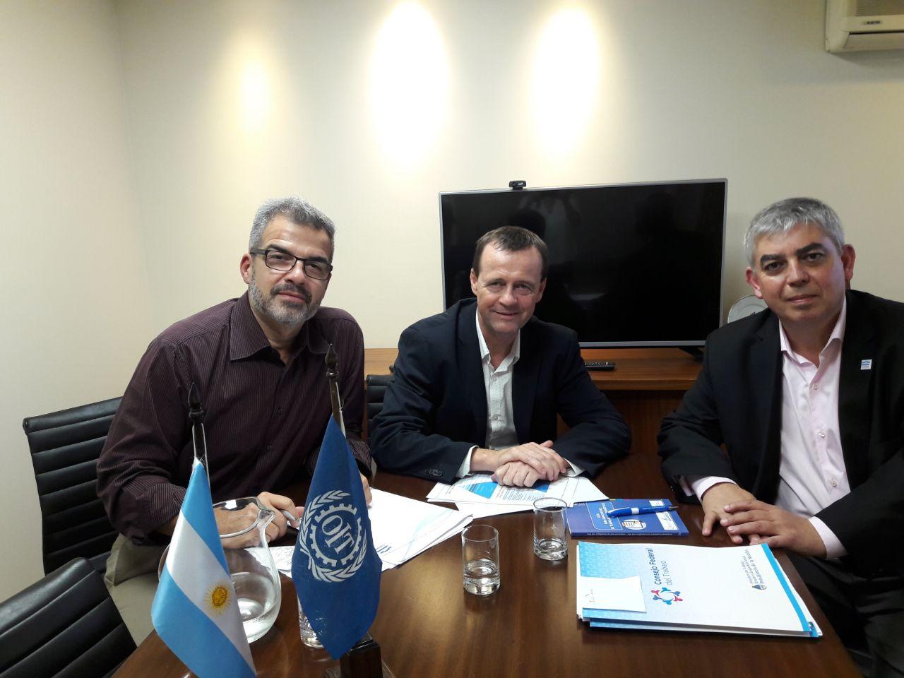 Tucumán se reunió con la OIT