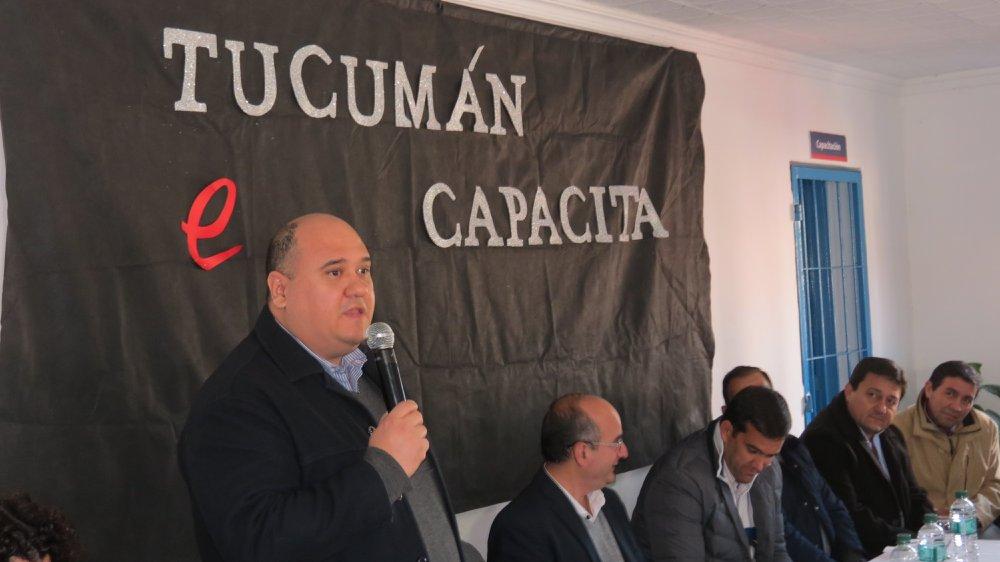 Lanzamiento del Programa Tucumán Capacita en el Municipio de Alderetes