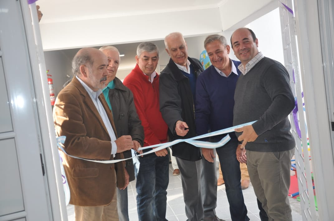 Inauguración del Centro de Cuidado Infantil en la localidad de Sargento Moya