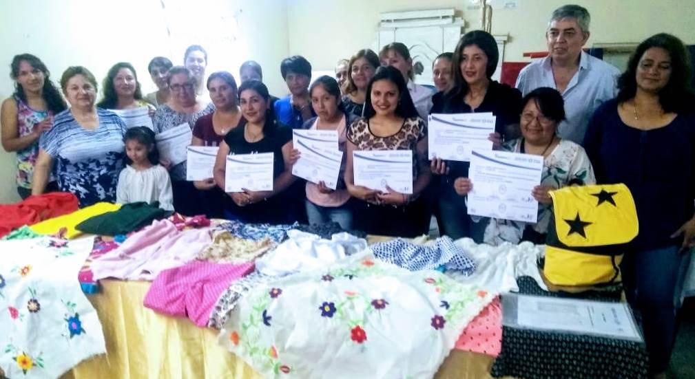 Más tucumanos se capacitan en la Industria Textil