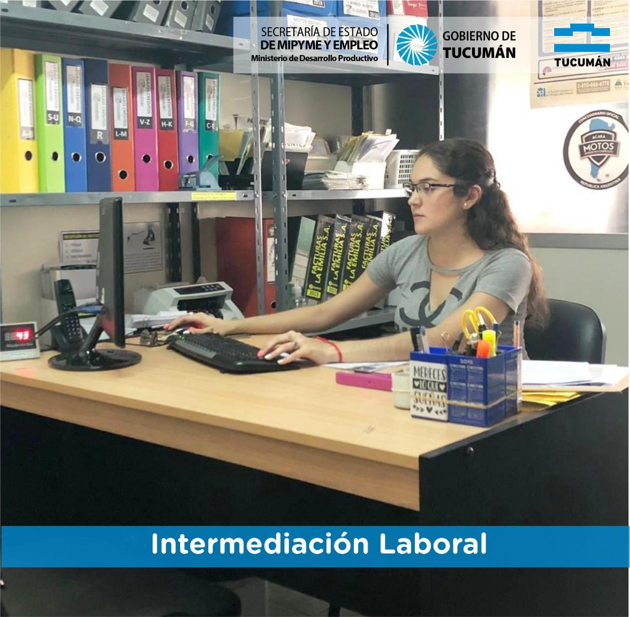 Intermediación laboral – Primeras Experiencias Laborales