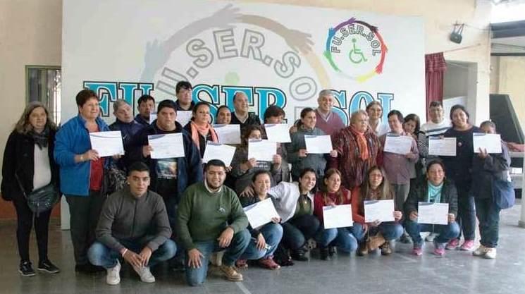 Entrega de Certificados en Santa Ana – Tucumán Capacita