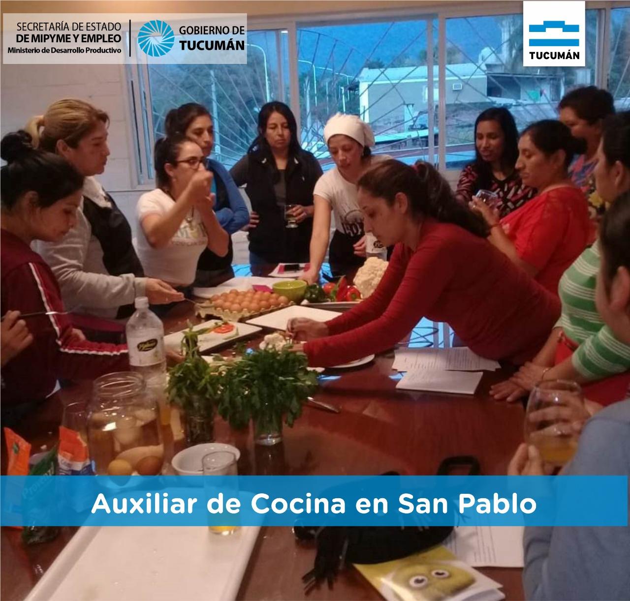 Nos preparamos para mejorar la oferta gastronómica en San Pablo