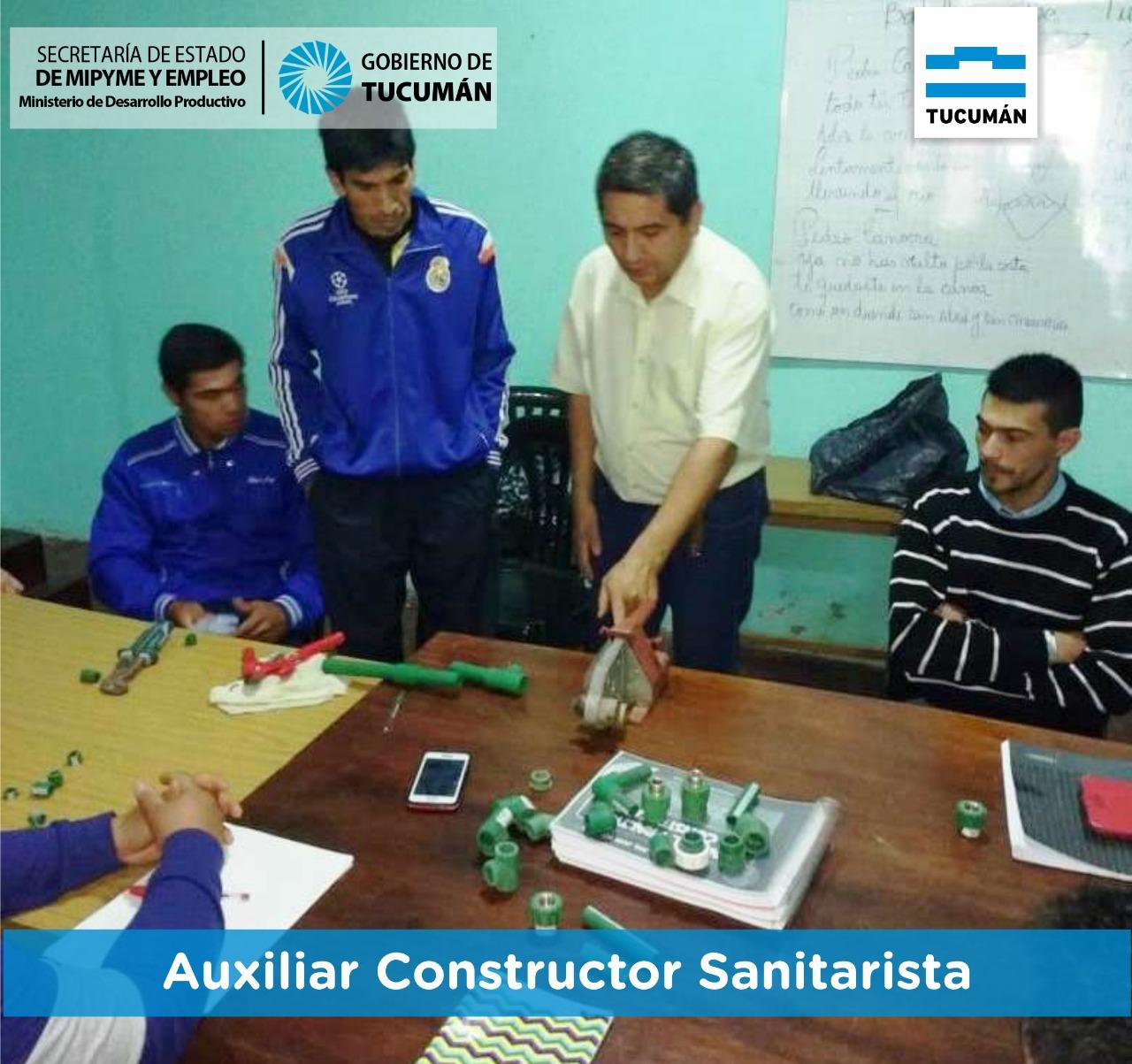 Más empleabilidad para los Tucumanos – Tucumán Capacita en La Cocha