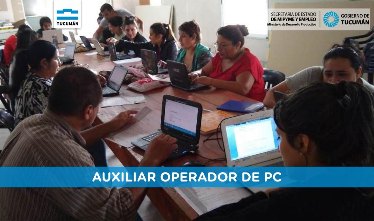 Más empleabilidad para los Tucumanos – Tucumán Capacita en Villa Belgrano