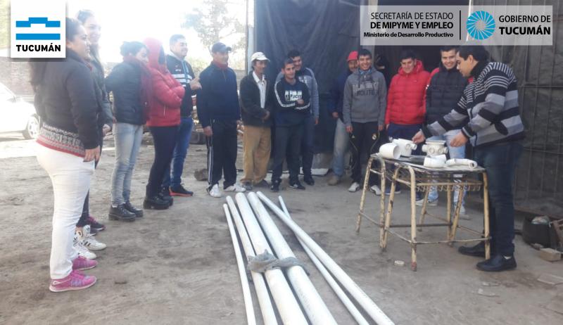 Capacitando en oficios en el Sur Tucumano