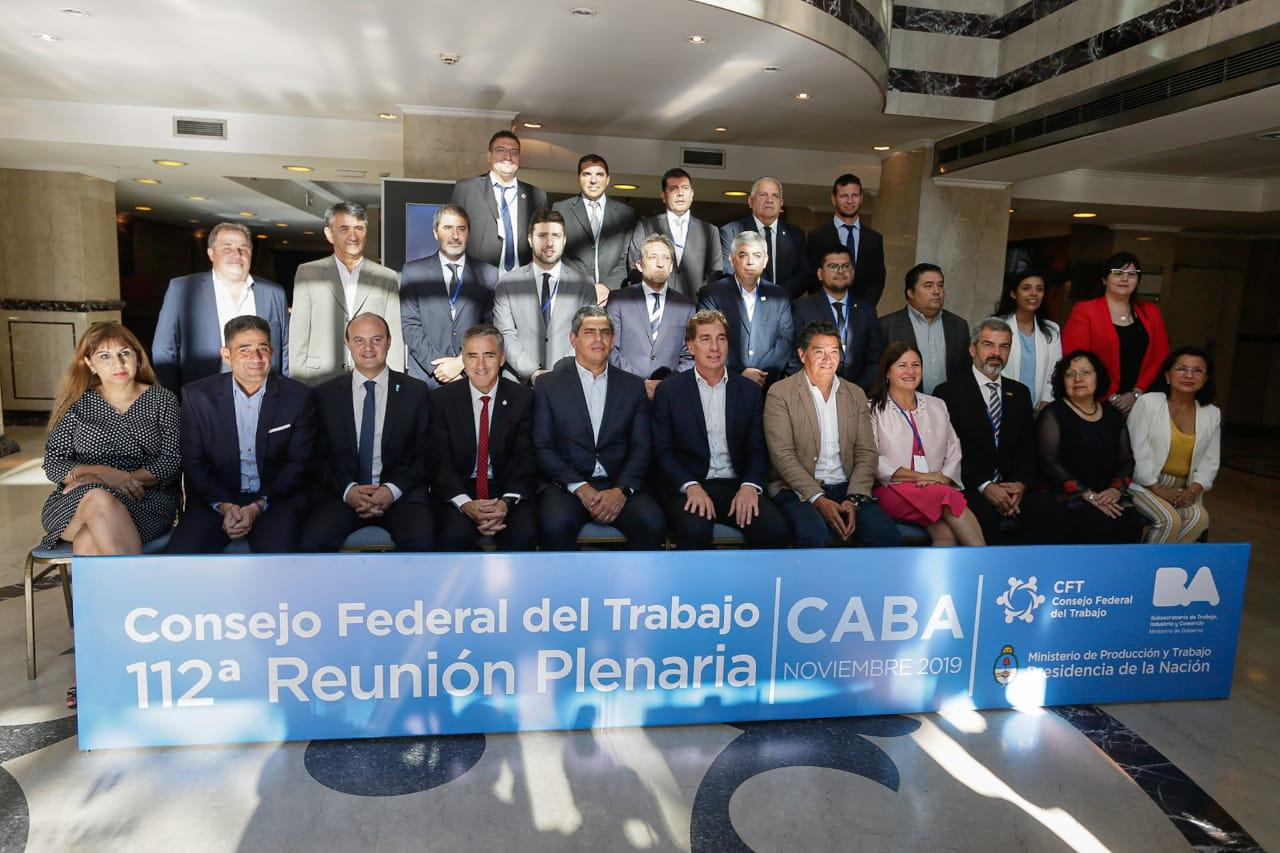 Tucumán presente en la 112ª Reunión del Consejo Federal del Trabajo (CFT)