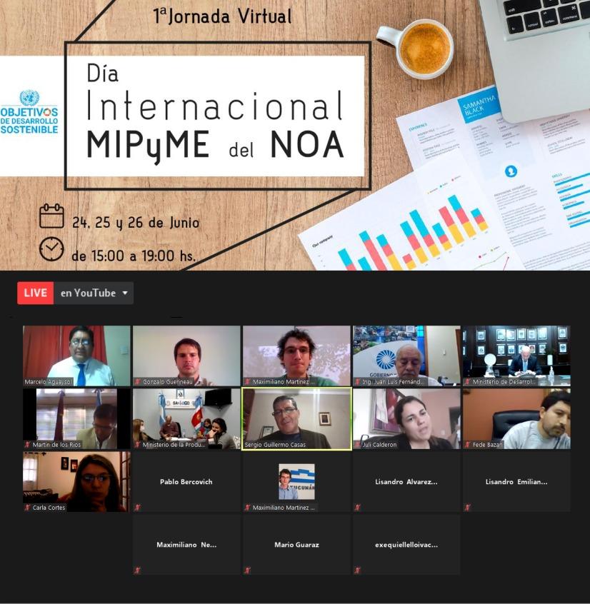 Jornadas virtuales para pequeñas y medianas empresas