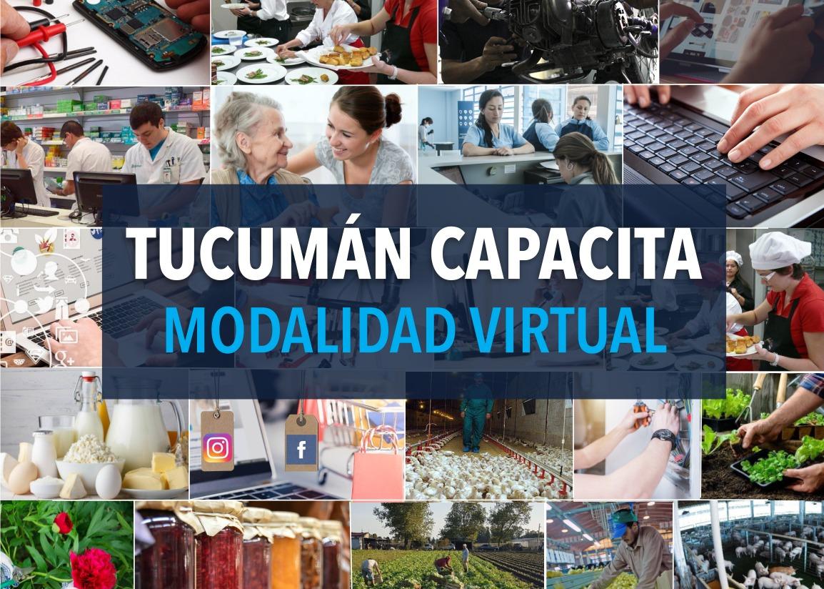 Lanzamiento Modalidad Virtual del Programa Tucuman Capacita