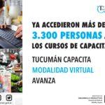 Tucumán Capacita modalidad virtual avanza