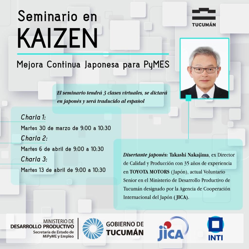 Seminario en KAIZEN – Mejora Continua Japonesa para PyMES